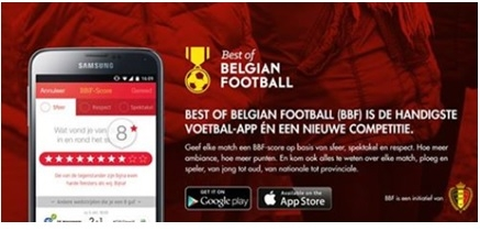 Best of Belgian Football app