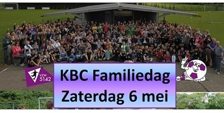 Online inschrijven KBC Familiedag 4 mei