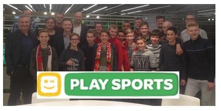 Wil je eens te gast zijn bij de opnames van Telenet Play Sports?